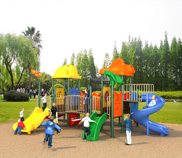 zp-044-幼儿园大型滑梯图片