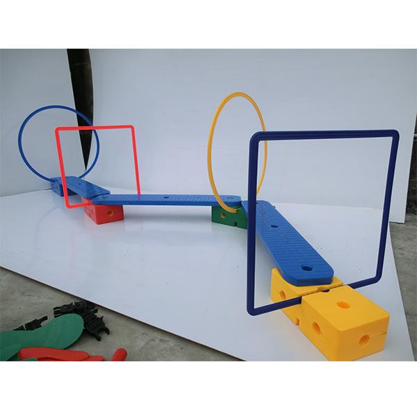 感统器材-过独木桥钻洞感统器材