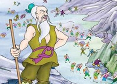 愚公移山的神话故事内容介绍