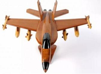 经典怀旧木制玩具 分享一款经典木制飞机模型